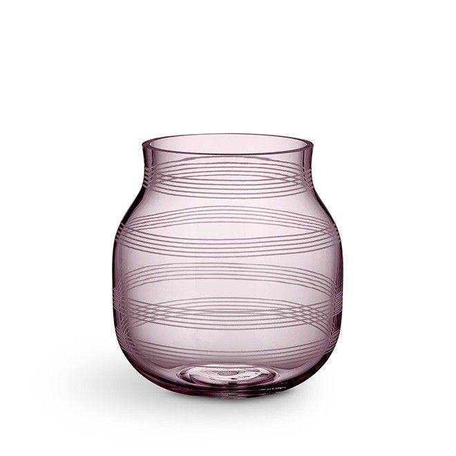 Omaggio vase, small plum