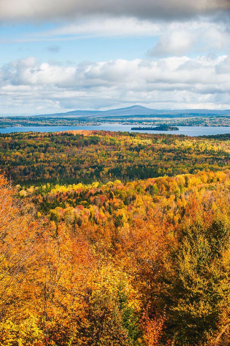 The ultimate maine fall foliage tour autumn in maine