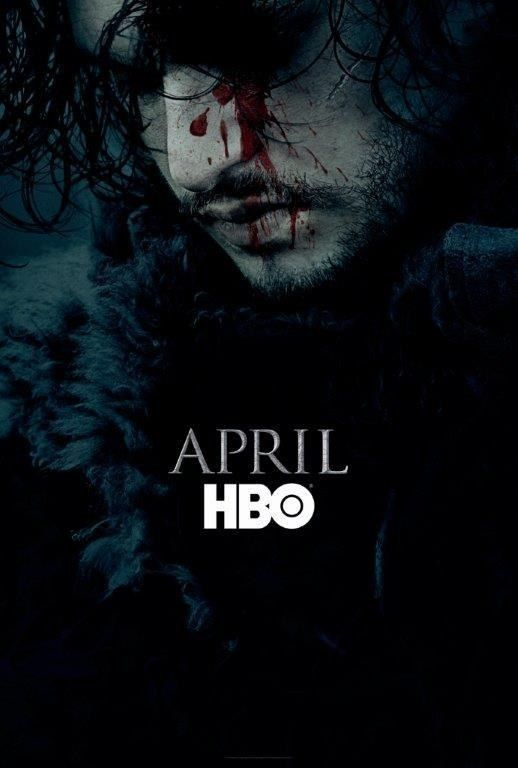 Jon Snow lived in the first promo poster for Season 6 of Game of Thrones.