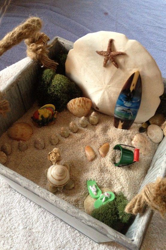 1000+ Ideas About Beach Fairy Garden On Pinterest