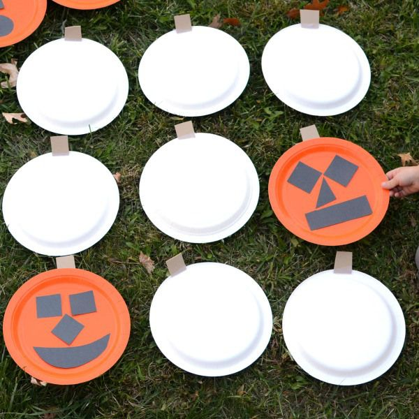 pumpkin memory game it is plays and pumpkins - Halloween Outside Games