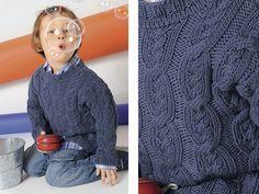 Джемпер с узором «Коса» - схема вязания спицами. Вяжем Джемперы на Verena.ru
