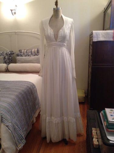 Gunne Sax Vintage Romantic Dress | eBay