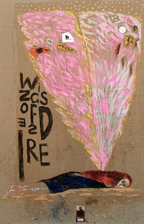 Wings of desire by Jenny Watson