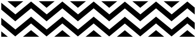 These Black and White #Chevron Zig Zag Modern Wall Border by Sweet Jojo Designs will look great in the nursery, living room or any space in your home.