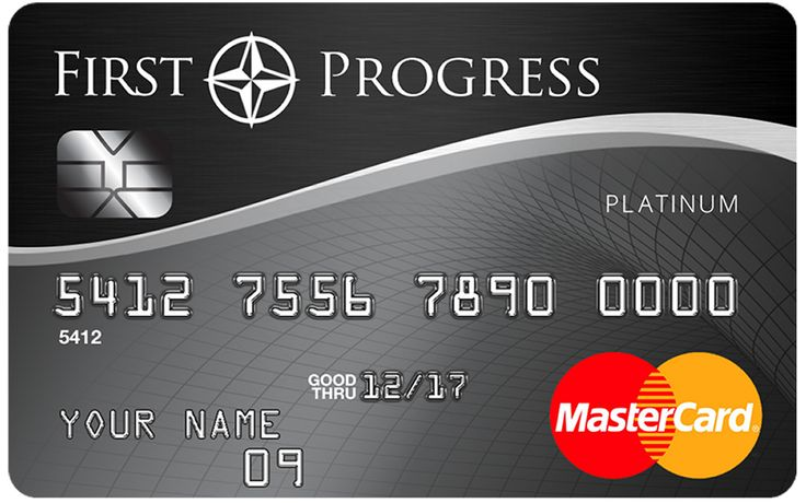 First progress platinum select mastercard secured credit