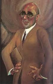 Otto Dix, Juwelier Karl Krall, 1923