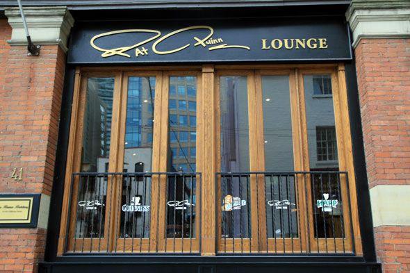 Pat Quinn Lounge Toronto