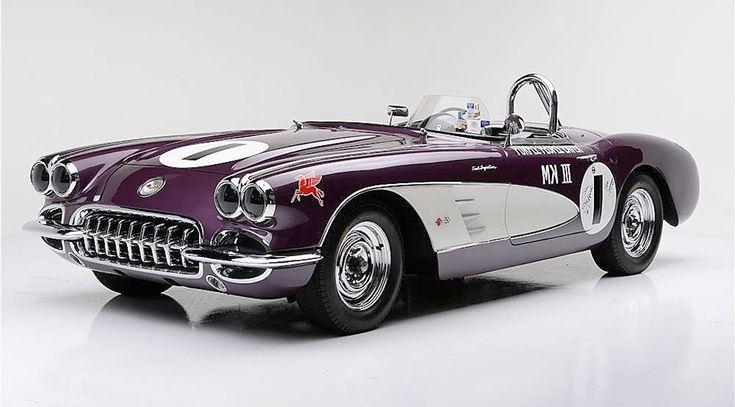 L'unique Corvette Purple People Eater est a vendre - Luxury Car Magazine