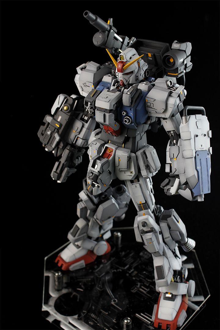 [GBWC 2015] ale's MG 1/100 Gundam Ground Type Base Attack Wear CUSTOM: Big Size Images, Info | GUNJAP
