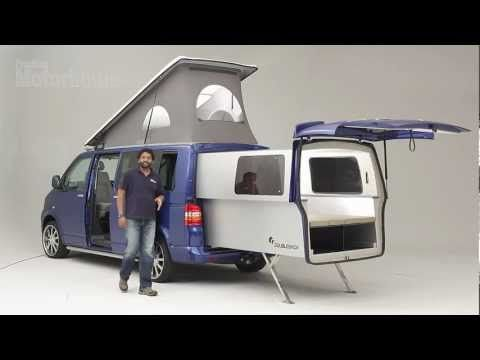 ▶ Practical Motorhome Doubleback VW Camper review - YouTube