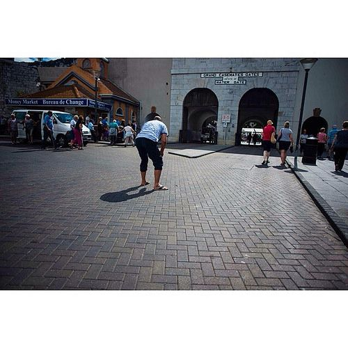 A guy bend in from of the old water gates entrance to the grand casemates square in Gibraltar. #my2014inphotos #aroundtheworld2014 #travel #travelphotography #nikontravel #wanderlust | Flickr - Photo Sharing!