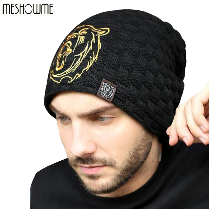 Beanies Knit Hat Men's Winter Hats For Men 2016 Brand Bonnet Skullies Winter Men's Hat Caps Skull Mask Outdoor Wolf Sports Cap #>=#>=#>=#>=#> Click on the pin to check out discount price, color, size, shipping, etc. Save and like it!