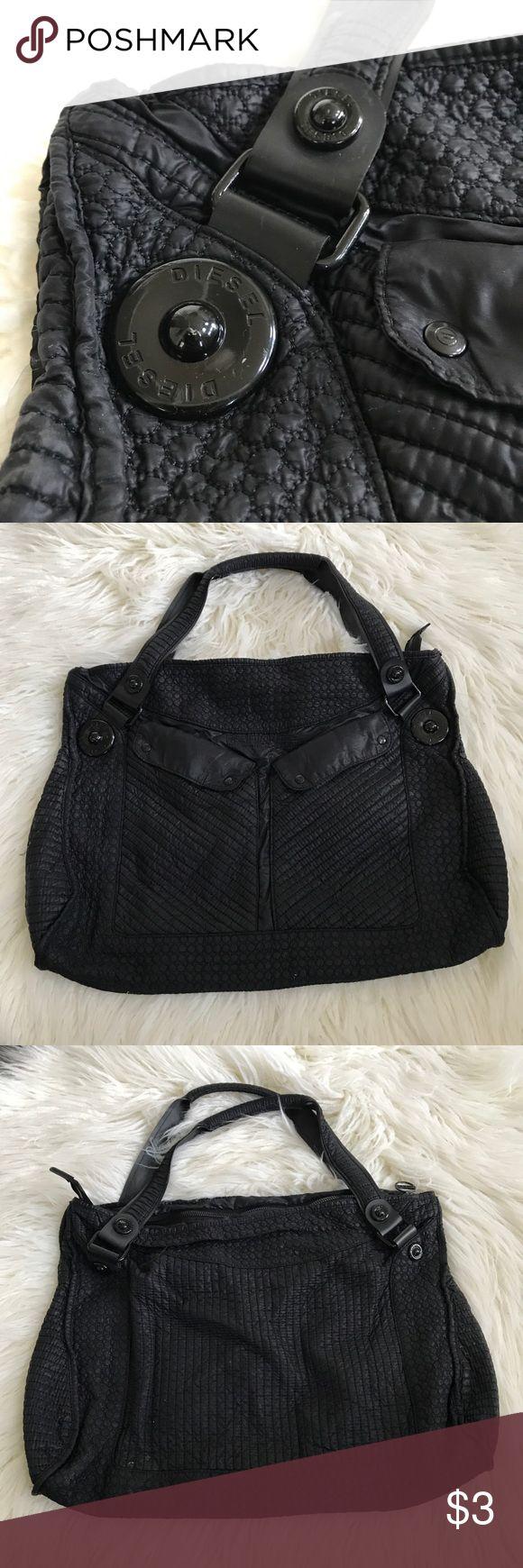 Black Diesel bag (perfect as Gym Bag) Good condition diesel Bags