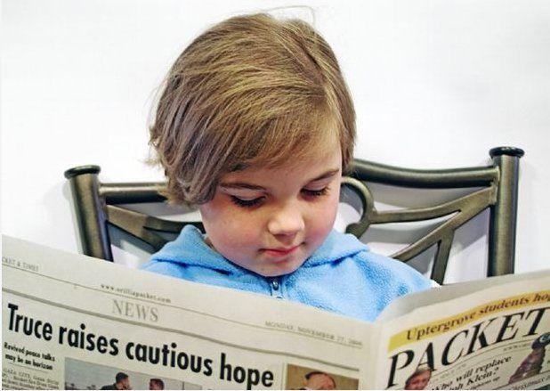Les enfants surdoués auraient de plus hautes potentialités dans le traitement de l'information.© Gracey, Morguefile
