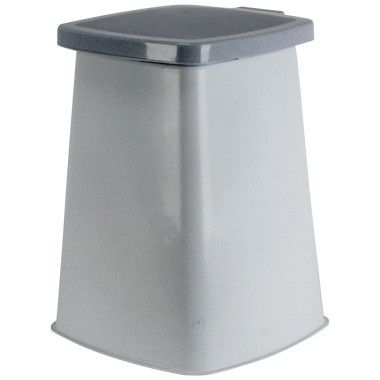 Curver Ecolife vuilniszakhouder - zilver