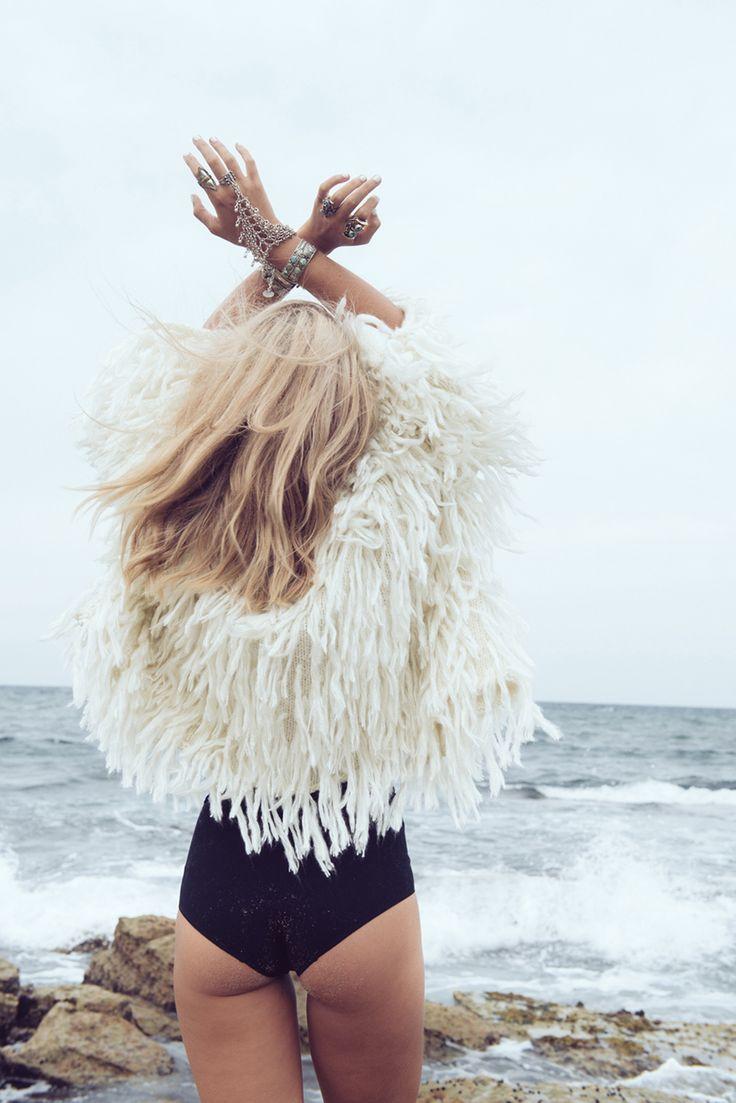 Silver Linings bohochic swimwear style