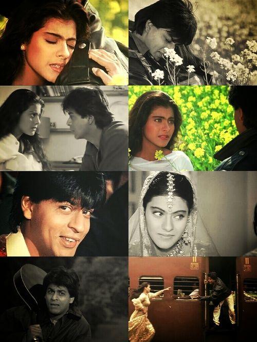 Shahrukh Khan and Kajol - Dilwale Dulhania Le Jayenge - DDLJ (1995)