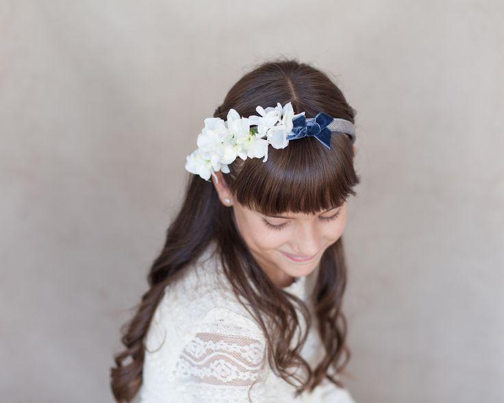 little / ceremonial headpieces / comunion / tiara / missdiademas.com / floral crown / coronas de flores / wedding / boda / girls / damitas
