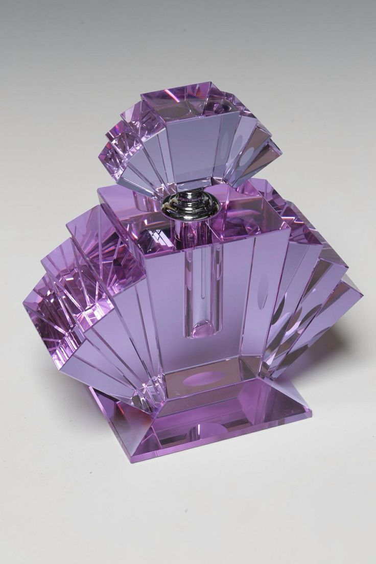 Amethyst Glass Vintage Perfume Bottle                                                                                                                                                                                 More