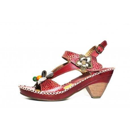 chaussure laura vita verre en solde à découvrir www.cardel-chaussures.com