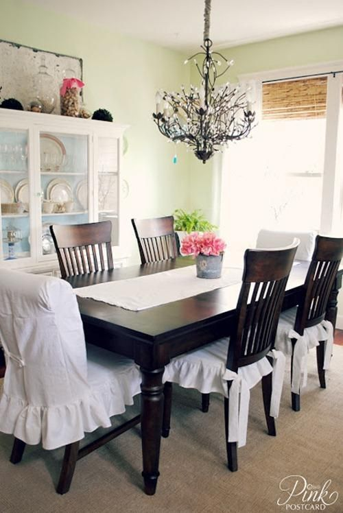 for dining chairs on pinterest dining chair slipcovers dining room
