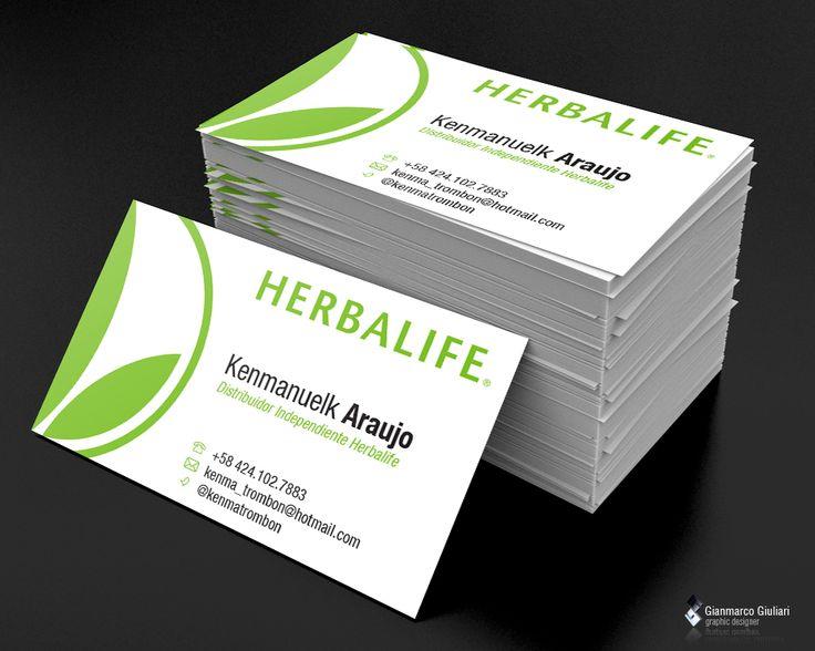 Herbalife tarjetas : POP Tarjetas de presentaciu00f3n ...