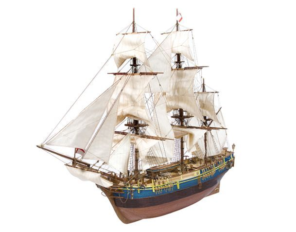 Fragata Bounty. Modelismo naval.