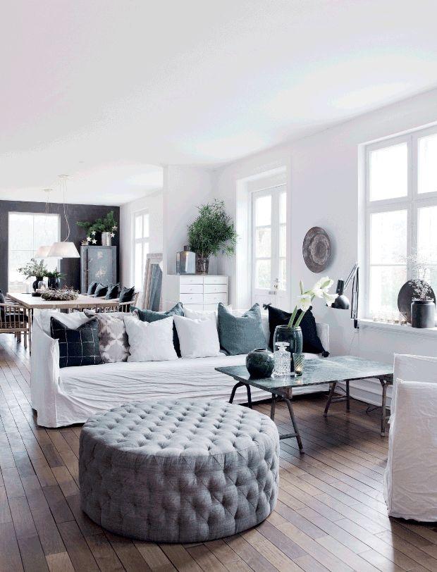 Moderní interiér s nádechem zimní atmosféry   Styl a Interier