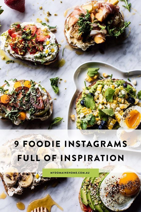 17 best instagram images on pinterest easy cooking easy food if you follow these foodies on instagram you dont need a restaurant guide forumfinder Choice Image