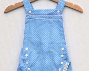 Mameluco del bebé Retro, vintage / Braga con criss-cross ajustable correas de hombro (tamaño: 6 meses +) género neutro