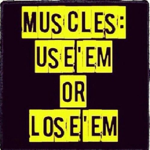 Use it or lose it is a huge motivation.