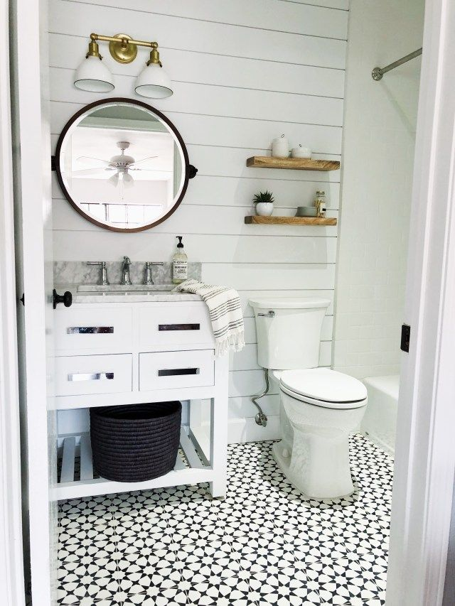 Big Impact In A Small Space The Heart And Haven In 2020 Bathroom Design Modern Bathroom Decor Small Bathroom