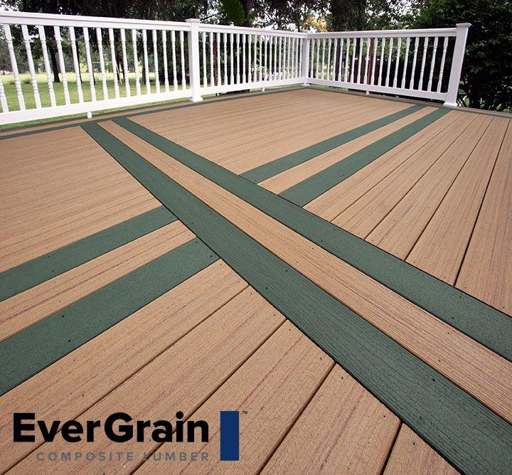30 best evergrain composite decking images on pinterest for Envision decking