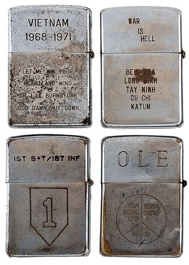 Vintage Vietnam Zippo Lighters Ebay Image 1 Old Vintage Vietnam Vietnam War Vietnam Engraved Zippo
