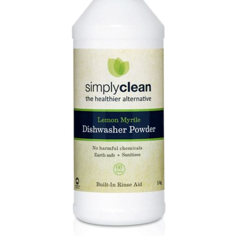Palm oil free dishwasher powder with built in rinse-aid – Evolution Emptor $16.00