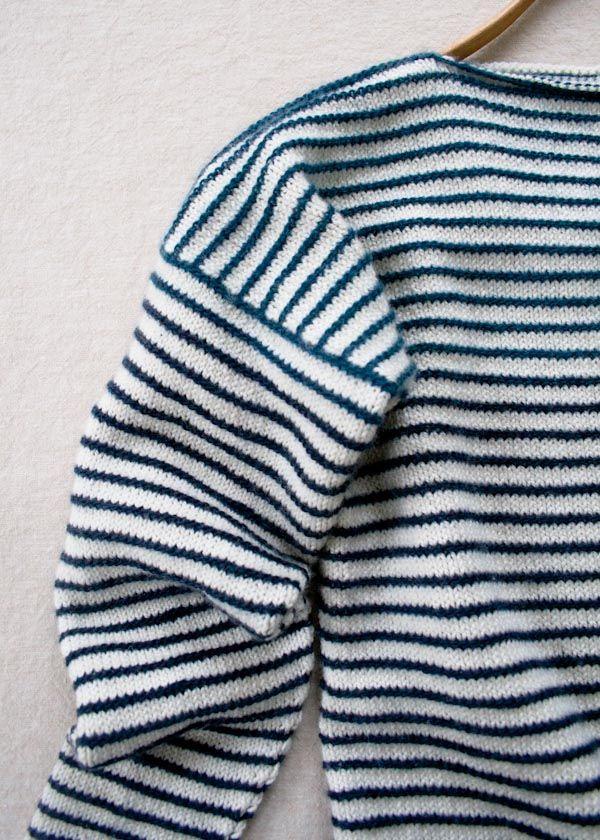 striped spring shirt (different gauge from summer shirt)