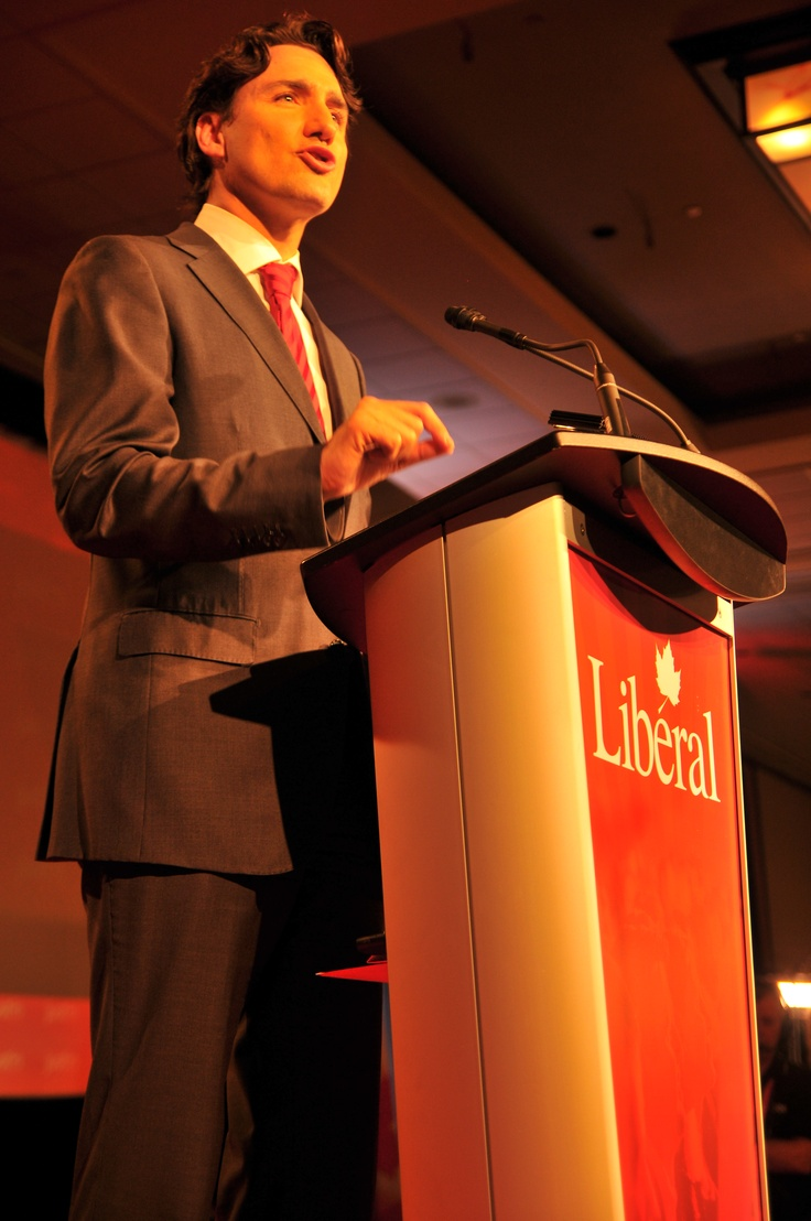 Justin new leader of Federal Liberal Party of Canada