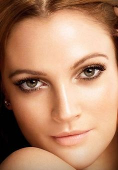 I love her eyes! Could use a little more blush though, for a wedding day