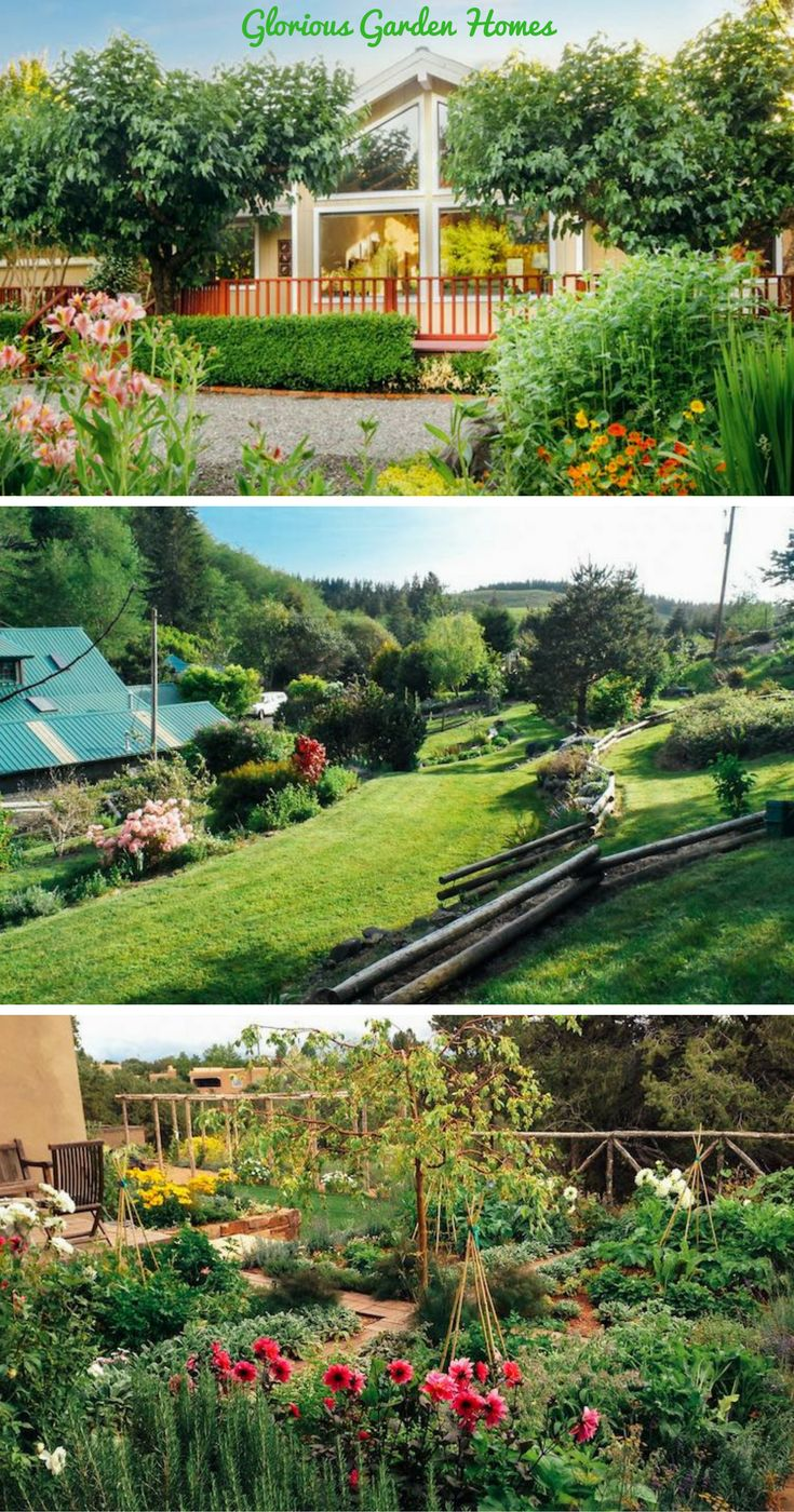 Hillside california home with gorgeous outdoor spaces - Check Out These Glorious Garden Homes And Bring The Outdoors