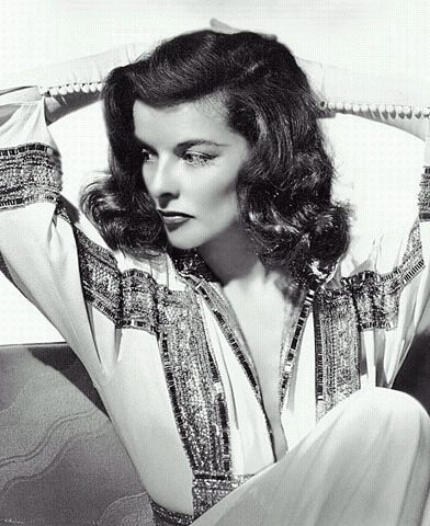 Katharine Hepburn - I've always loved her direct nature, independence, passion, focus, and those beautiful flowing trousers she rocked in the 1930's.