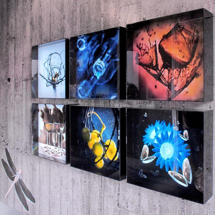 Plasma tus propias imágenes en una caja de luz para iluminar tu hogar de una manera original y vistosa!