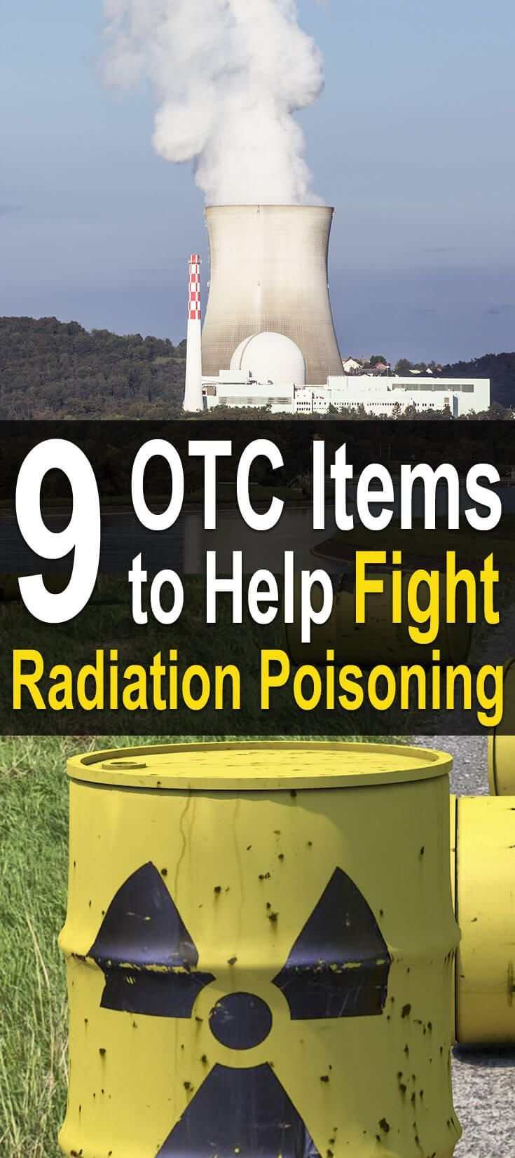 9 OTC Items To Help Fight Radiation Poisoning. Every day it seems more and more likely that we will end up in a nuclear exchange with North Korea. Watch this video to learn more. #Urbansurvivalsite #Fightradiationpoisoning #Survival