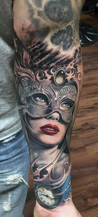 22 best face mask tattoo designs images on pinterest for Face mask tattoo