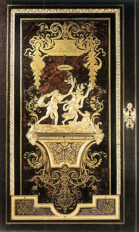 Andre Charles Boulle decorative panel 1695 Wallace Collection, London, United Kingdom