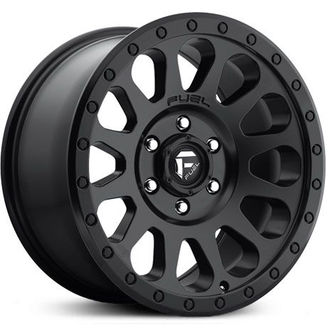 Fuel D579 Vector  Wheels Matte Black