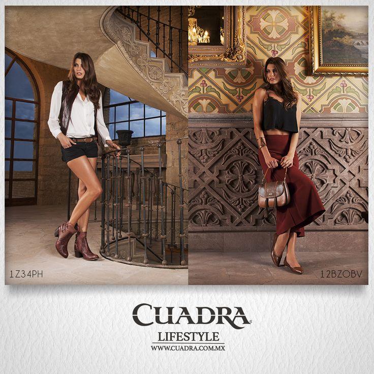 Con #CUADRA puedes ser audaz y discreta. #Shoes #Calzado #Zapato #Dama #Moda #Estilo