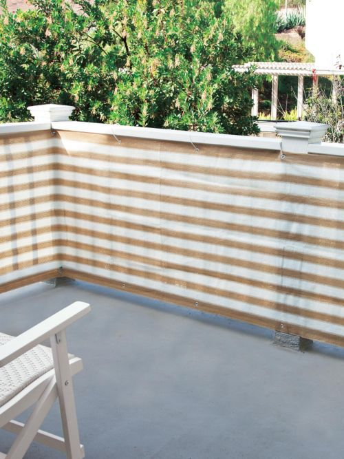 Privacy Screen - Keep prying eyes out, let cool eezes in with Privacy Screen. Love spending time on your$29 deck, but feel a little too...public? Use as a deck privacy screen or balcony privacy screen.
