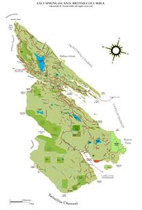 link to high res map of Salt Spring Island, British Columbia, Canada