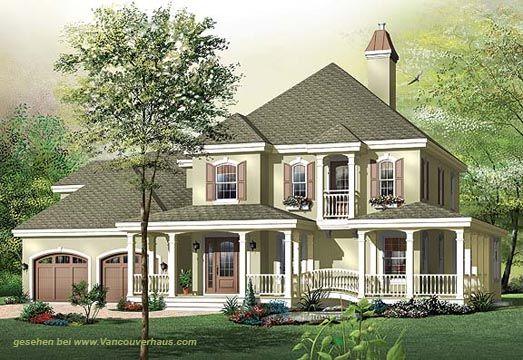 VH 70003 amerikanische Villen - amerikanische Häuser Fertighäuser Fertighaus kanadische Häuser